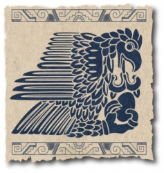 Mayan and inca tribe vector