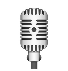 realistic microphone vector image