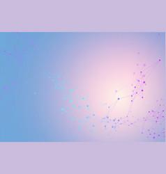 Structure molecule dna atom neurons scientific vector