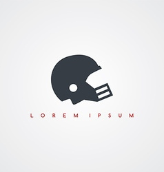 American football icon sign logotype vector