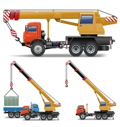 Construction Machines Set 5 vector image vector image