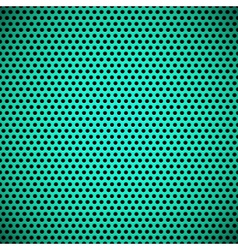 Green seamless circle perforated carbon grill vector