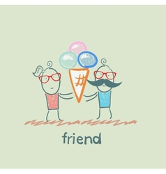 Friend vector