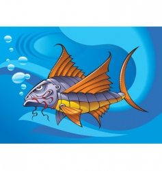 Mechanical fish vector