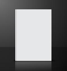 Book blank vector