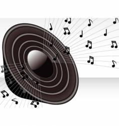 3d speaker vector image vector image
