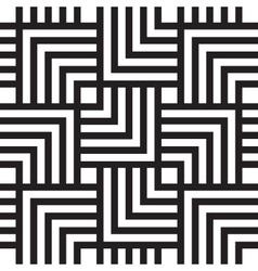 Square chevron pattern background vector image