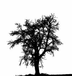 alone vector image
