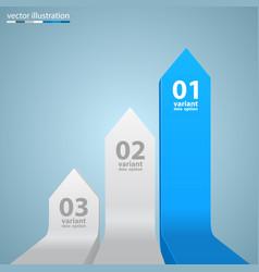 Arrows business growth vector