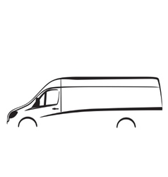 Car repair or delivery service label logo design vector