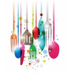Have a nice meal vector image vector image