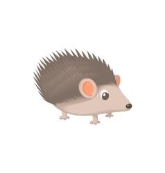 Hedgehog icon cartoon style vector