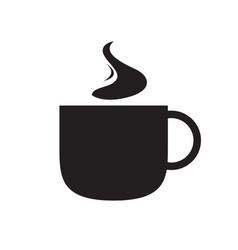 isolated coffee mug vector image