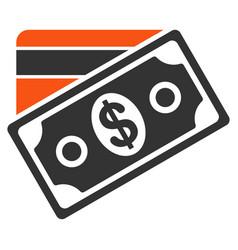 money flat icon vector image