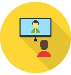 Video Call vector image