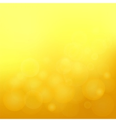 yellow blurred background vector image vector image