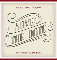 Save the date vector