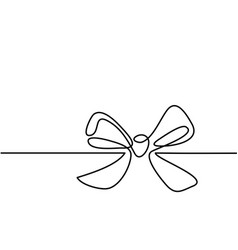 christmas holly decoration bow-knot vector image vector image