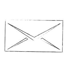 Envelope icon image vector