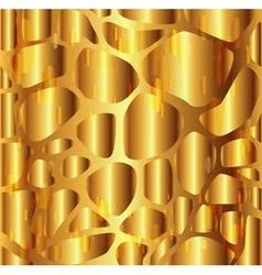 Gravel texture golden background vector