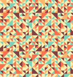 seamless triangle background motley vector image