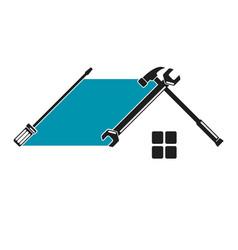 Home repair tool symbol vector