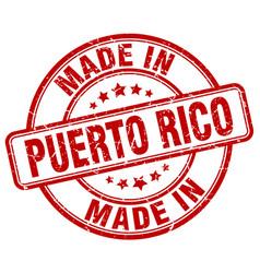 Made in puerto rico vector