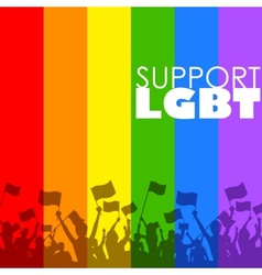 Lgbt support vector
