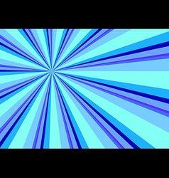 Light ray burst abstract background blue vector
