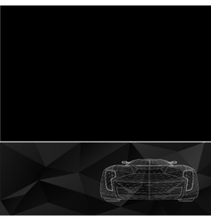 Abstract Creative concept background of 3d vector image