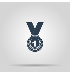 Medal icon concept for design vector image