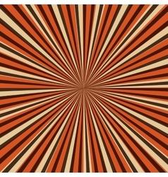 sunburst pattern design vector image