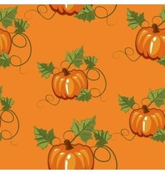 Autumn seamless pattern gift wrapping invitation vector