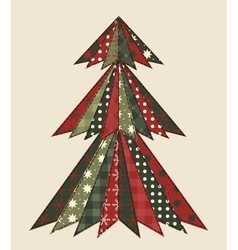 Christmas tree for scrapbooking 2 vector