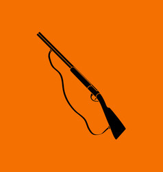 hunting gun icon vector image