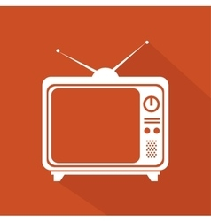 Tv entertainment design vector