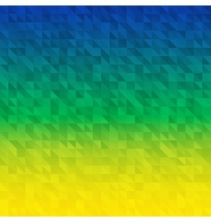 Abstract Background using Brazil flag colors vector image