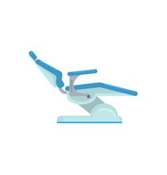 Dental chair medical equipment vector