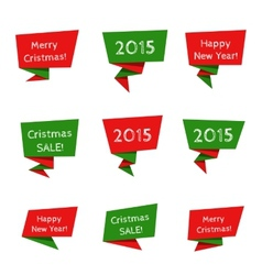 Holiday Sale elements vector image vector image