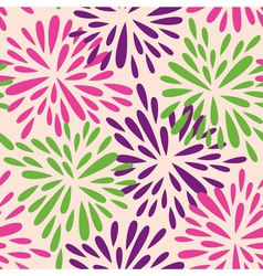 Organic shape flowers vector