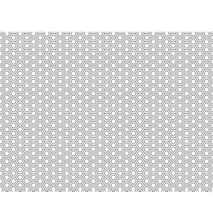 Honeycomb seamless pattern 3 vector image