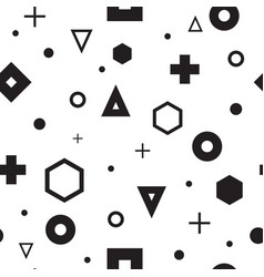 abstract geometry pattern vector image vector image