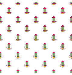 Party popper pattern vector