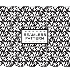 retro seamless pattern with simple line geometric vector image vector image
