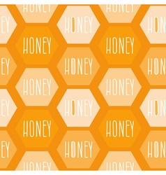 Honey Patterned Background vector image