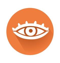 eye symbol vector image
