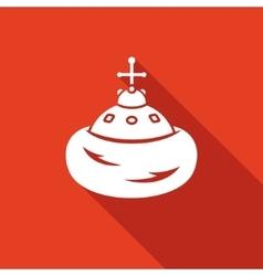 Cap of Monomakh icon vector image vector image