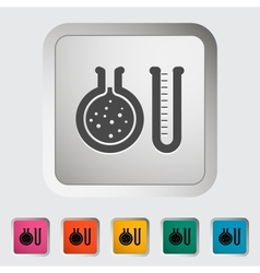 Chemisty icon vector