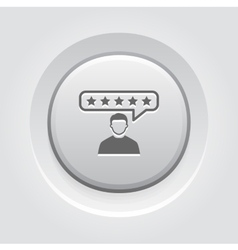 Customer reviews icon vector