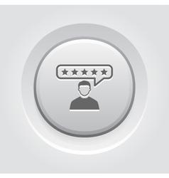Customer Reviews Icon vector image vector image